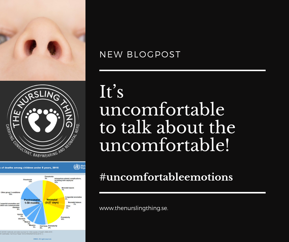 It's uncomfortable to talk about the uncomfortable!