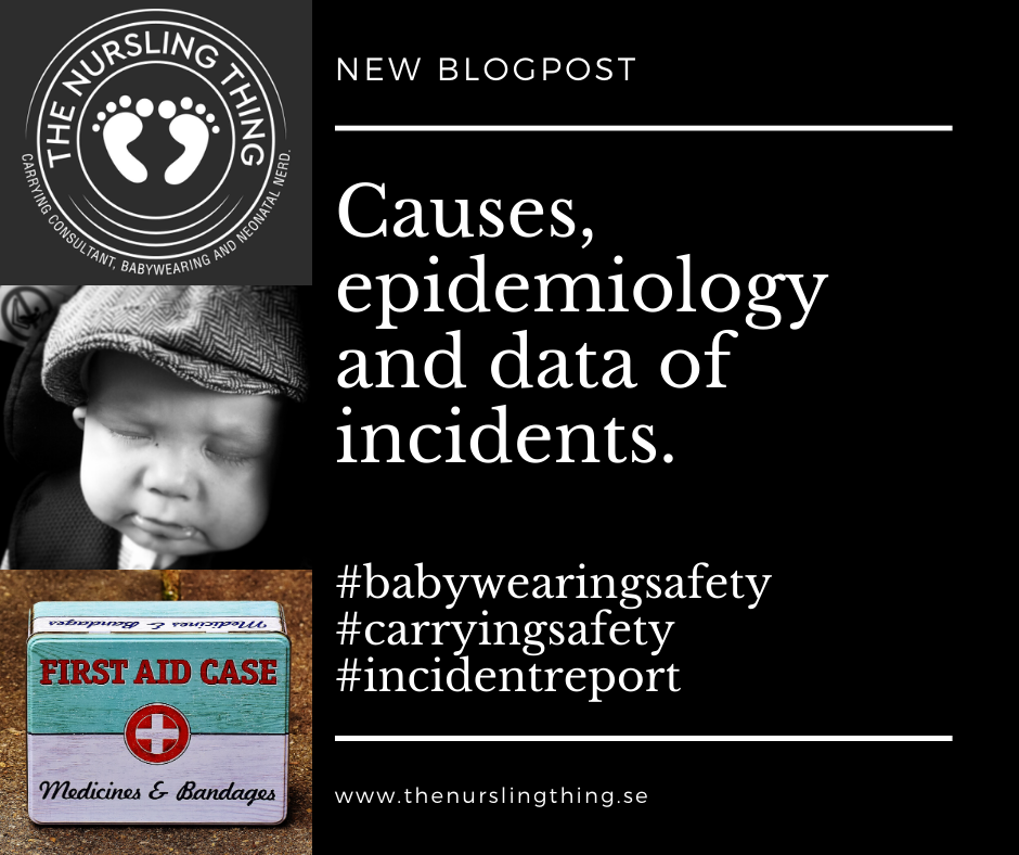 Causes, epidemiology and data of incidents.